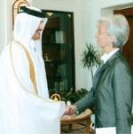 Sheikh Tamim Al Thani_Mme. Christine Lagarde