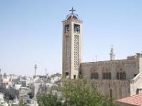 mosquée et église, Bethlehem, Palestine
