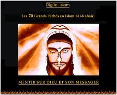 70-péchés-Islam-mentir-sur-Dieu