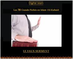 70-péchés-Islam-faux-serment