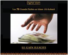 70-péchés-Islam-gain-illicite