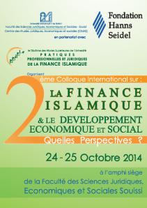 2eme colloque international finance islamique 2014