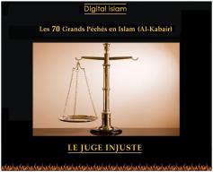 70-péchés-Islam-juge-injuste