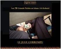 70-péchés-Islam-juge-corrompu