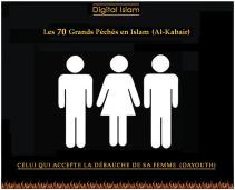 70-péchés-Islam-dayouth