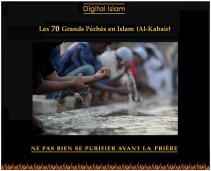 70-péchés-Islam-pureté