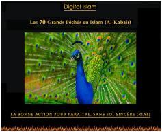 70-péchés-Islam-paraître