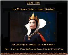 70-péchés-Islam-nuire-injustement