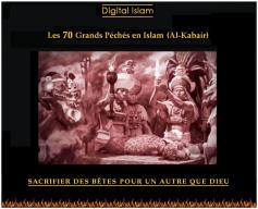 70-péchés-Islam-sacrifice-païen