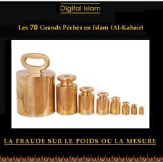 70-péchés-Islam-fraude-poids-et-mesure