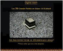 70-péchés-Islam-Haj