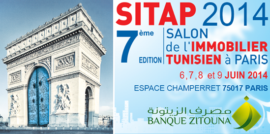La banque zitouna sera au salon de l immobilier tunisien paris sitap 2014 - Credit immobilier banque islamique ...