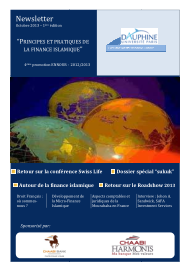 Newsletter-Paris-Dauphine-Finance-Islamique-N°-1