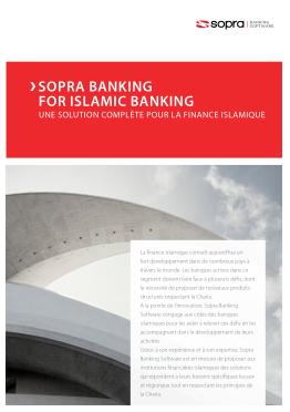 Sopra Islamic Banking