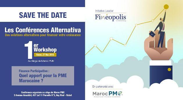 Conférence Alternativa Fineopolis - Maroc PME