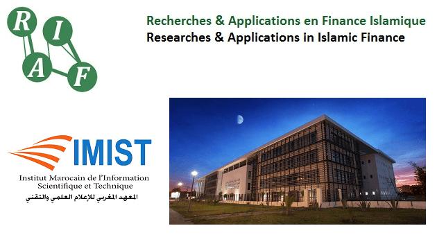 Revue RAFI IMIST-CNRST