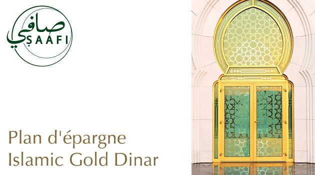 Plan d'épargne Islamic Gold Dinar