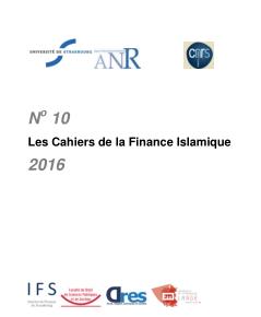 Cahiers de la finance islamique n° 10