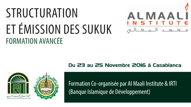 Formation avancée : Structuration et émission des SUKUK