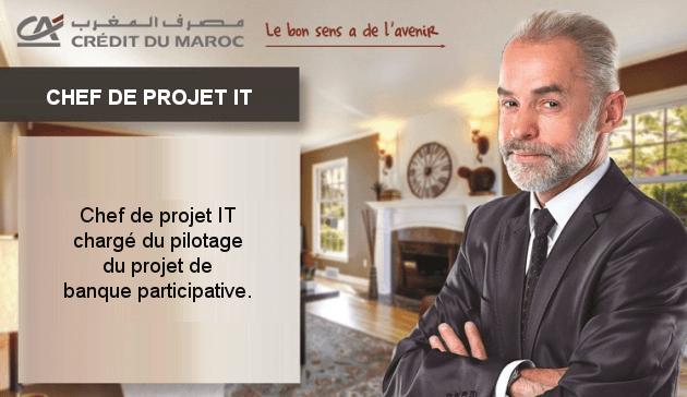 Chef de Projet IT Banque Participative