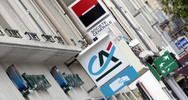 BNP Paribas, Société Générale, Groupe Crédit Agricole
