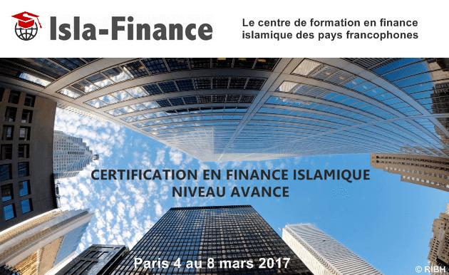 Formation Niveau Avancé en finance islamique