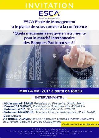 Conférence Marché interbancaire participatif