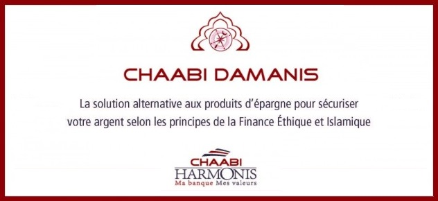 Chaabi Damanis finance islamique
