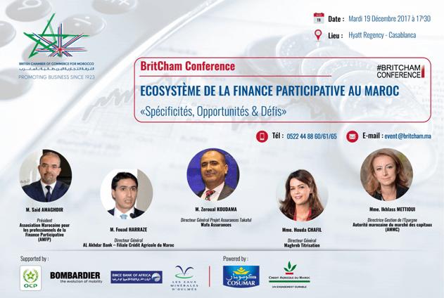 Écosystème de la Finance Participative au Maroc – Conférence Britcham