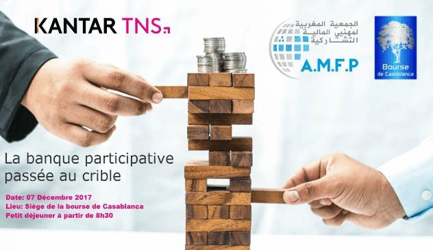 Kantar TNS AMPFP Bourse banque participative