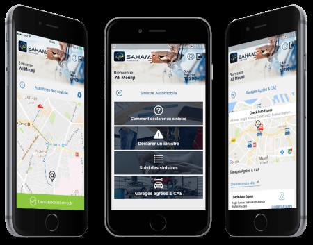application mobile saham assurance