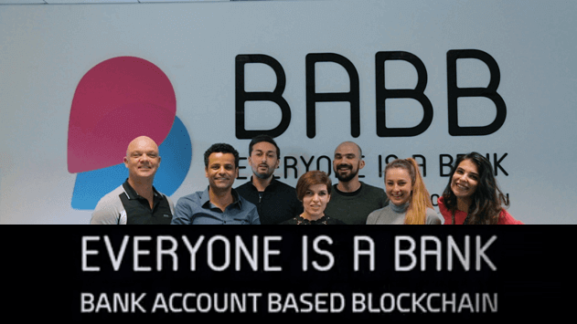 BABB blockchain bank account
