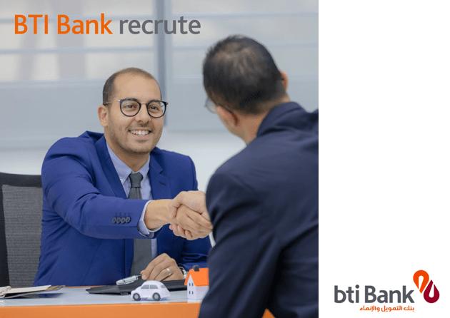 BTI bank recrute reseau
