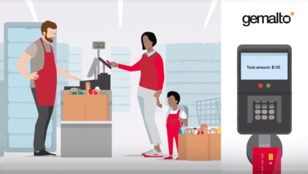 Gemalto, leader mondial de la sécurité numérique, lance la première carte de paiement biométrique double interface au monde, pour les paiements avec et sans contact.