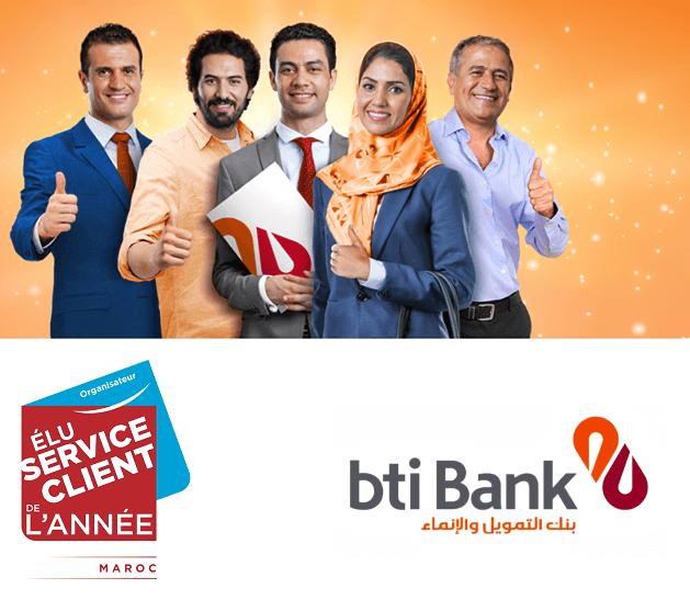 bti bank meilleur service client-2019