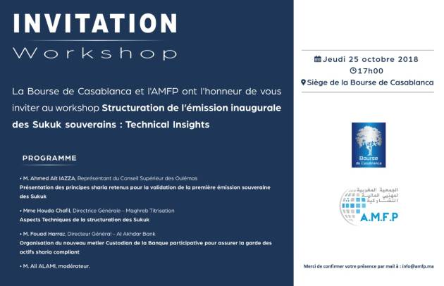 Workshop Structuration emission inaugurale Sukuk souverains