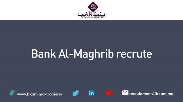 Bank Al-Maghrib recrute un chargé d'études finance participative