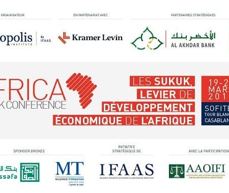 """Conférence Internationale """"Sukuk Africa 2019"""" à Casablanca"""
